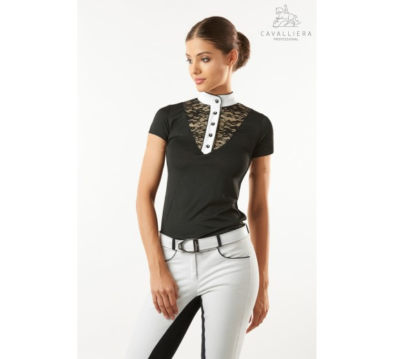 Lace Chic Technical Short Sleeve