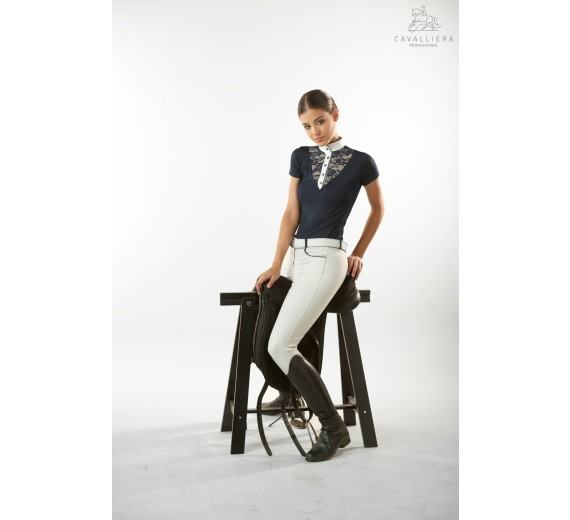 Lace Chic Technical Short Sleeve-0