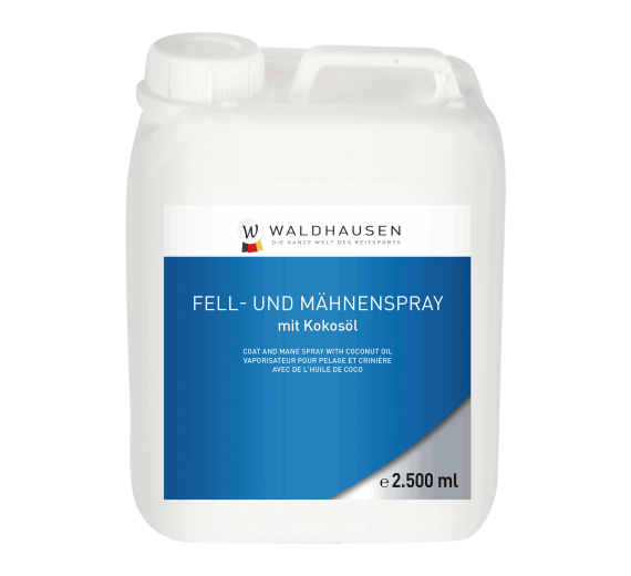 PELS, MAN OG HALESPRAY MED KOKOS - 2500 ML