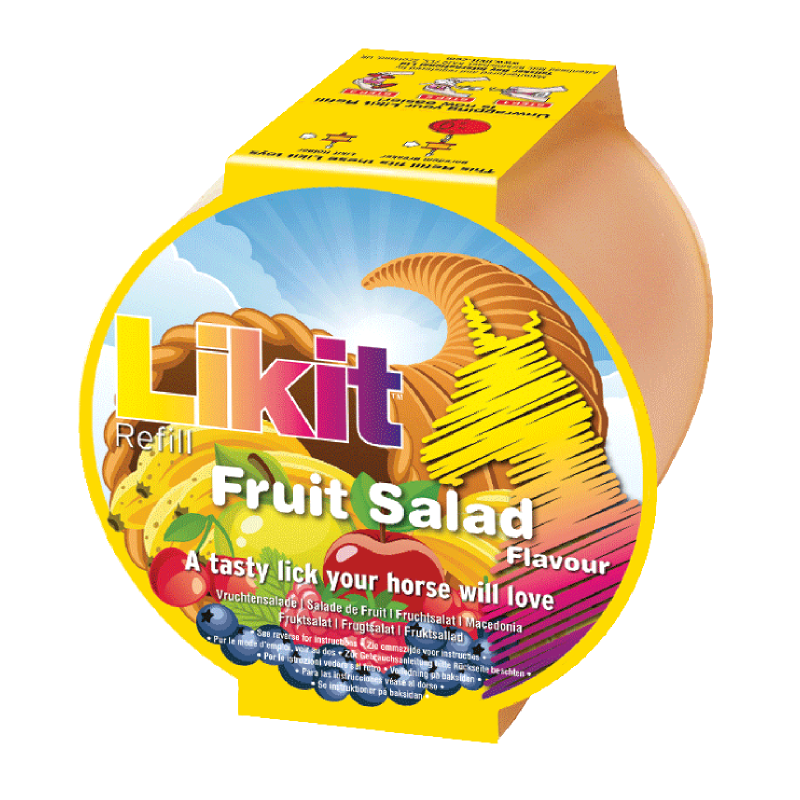 Slikkesten 650g. - Fruit Salad