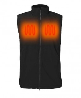 Softshell Vest Sort Unisex-20