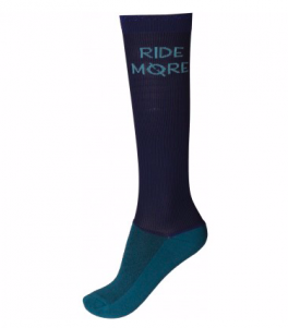 "Ridesokker ""Ride More"" Summer Blue-20"