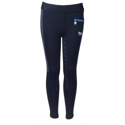 Junior ride tights Bijoux - Navy